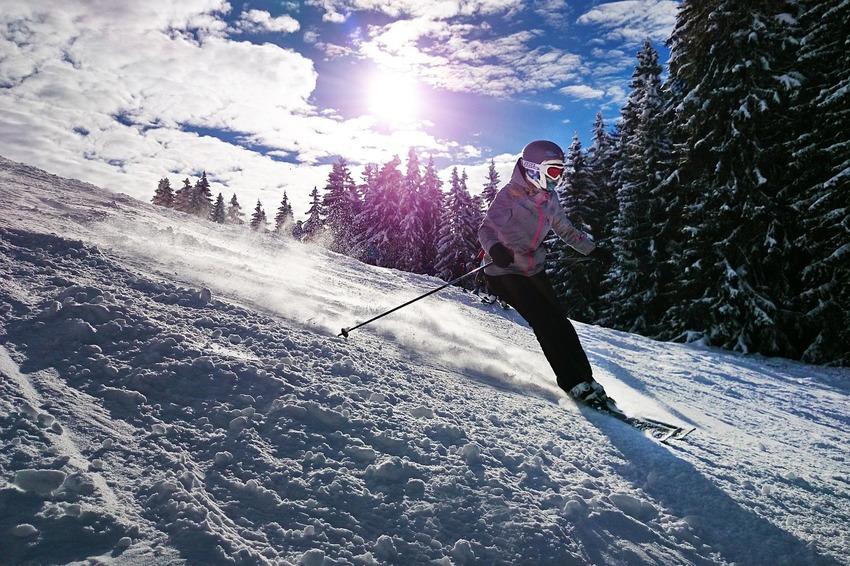 Station de ski dans le sud