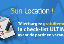 Check List Ultime avant de partir en vacances