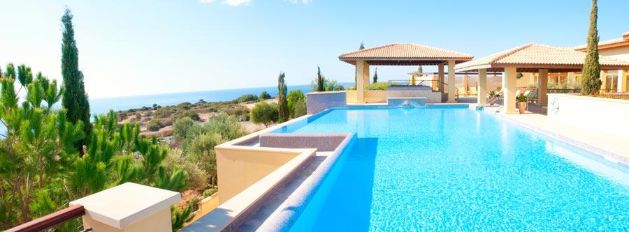 Location villa avec piscine privée